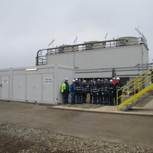 Construction of cooling towers at Isomerization and Cogeneration units