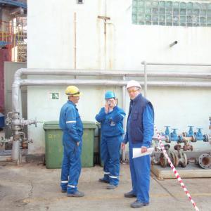 Revizie la instalatii in Rafinaria Petrobrazi, 2012