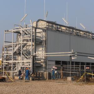 Constructie turnurilor de racire la unitatile de Izomerizare si Cogenerare