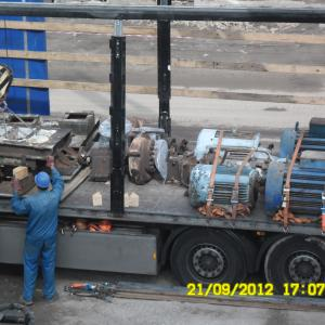 Dismantling, packing and load for relocation of Azotic Acid Plant 725 NTD Doljchim